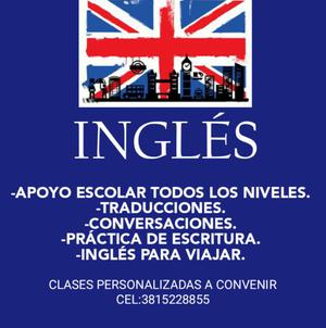 Inglés: clases particulares