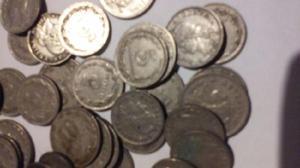 Monedas de nikkel argentinas