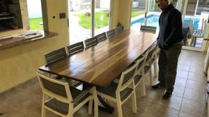 Mesa para quincho diseño