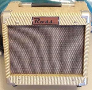 Amplificador marca ross 10w