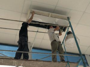 Instalacion y reparacion de aires acondicionados y split