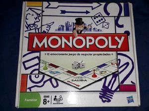 Juego De Mesa Monopoly Popular Familiar Hasbro En Argentina