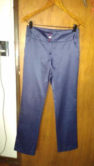 Pantalon azul de vestir markova