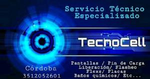 Servicio técnico de celulares y tablet