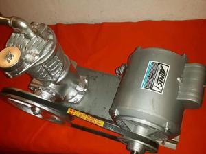 Compresor con motor de 1 hp