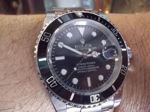 Rolex submariner automatico cristal zafiro igual a nuevo,sin