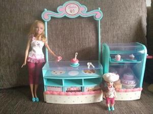 Barbie pastelería original muñecas
