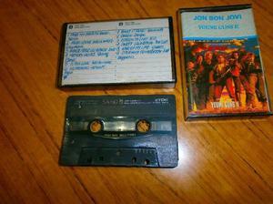 Cassettes jon bon jovi