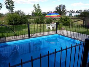 Casas alquiler x dia entre ríos piscina