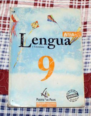 Libros lengua y literatura 9 egb activa (y carpeta de act.)