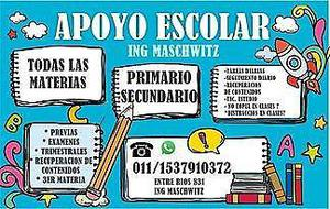 Clases particulares t/materias ing maschwitz