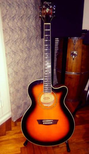Guitarra electroacustica washburn ea-15