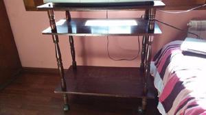 Mesa de madera para tv