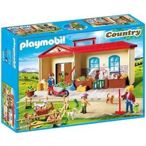 Maletin playmobil granja con animales y accesorios - 4897