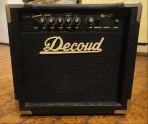 Amplificador para guitarra decoud 20w watts