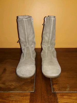 Botas de gamuza marrones