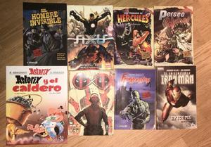 Libros historietas marvel promo x 8