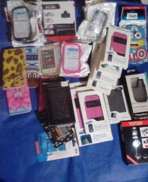 Lote de accesorios celulares