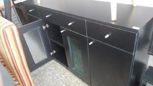 Cristalero vajillero mueble living comedor 1,60x0,90x0,42 $
