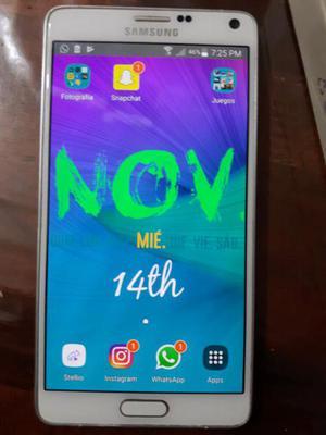 Samsung galaxy note 4 (imperdible)