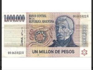 3.700 billetes ley 18188 de un millón de pesos