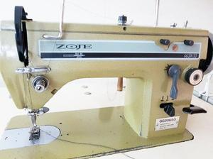 Mesa con maquina de coser zaje semi industrial
