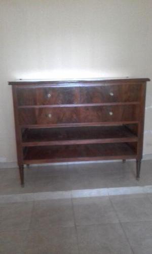 Mueble comoda de madera.