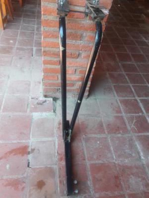 Porta bici para 3 bicicletas es para colocar en el enganche