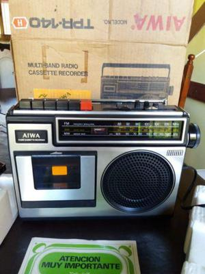 Aiwa tpr-140 radio grabador sin uso