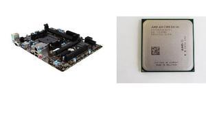 Combo mother msi a68hm micro procesador amd dual-core