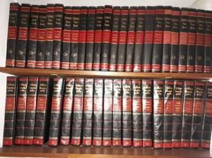 Enciclopedia collier's completa, origen usa