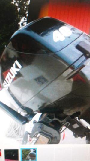 Suzuki 40 hp 2012 muy poco uso factura de compra original
