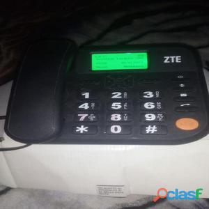 Teléfono inalambrico zte funciona con chip de cualquier compañía