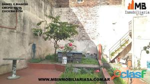 Barracas terreno de 353m2 en san antonio al 500