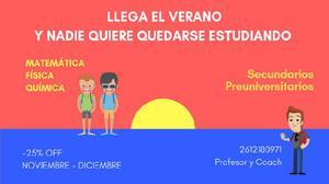 Clases particulares y apoyo pedagógico