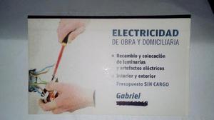 Electricidad de obra y general