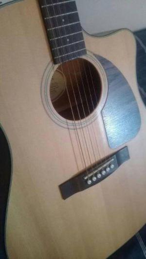Guitarra fender cd 100 ce v2 electroacustica ampli funda