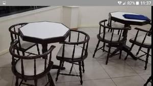 Cafe, bar, resto quinchos:sillones y mesas linea