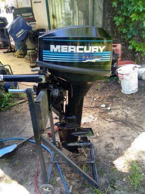 Motor fuera de borda mercury 15 hp!