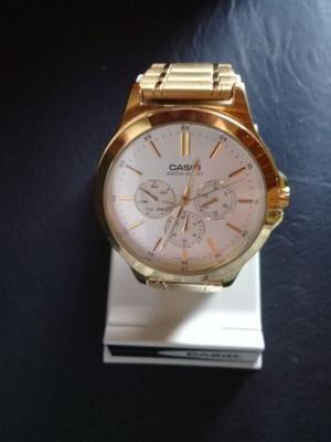 0b402edf8404 Reloj casio dorado   REBAJAS Junio