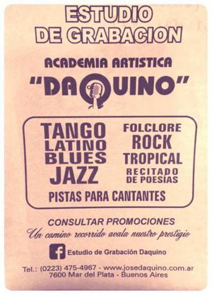 Academia de canto Daquino