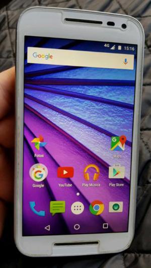Motorola g3 libre con 4g lte resistente al agua.