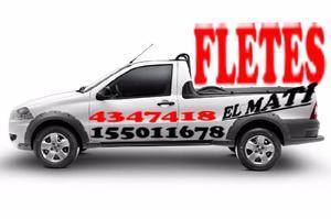 """FLETES """" EL MATÍ """" REPARTOS - ACARREOS PEQUEÑAS"""