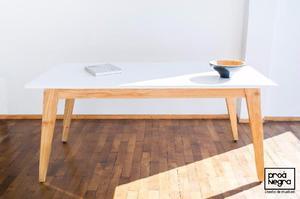 Mesa comedor diseño moderno vintage escandinavp
