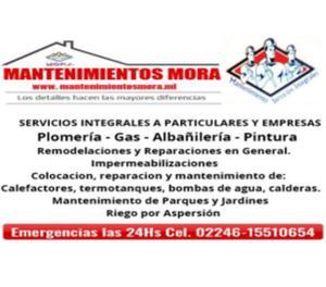 Plomero - instalaciones - gasista - filtraciones -
