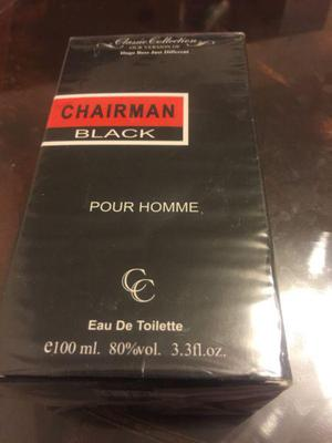 Perfume men chairman black
