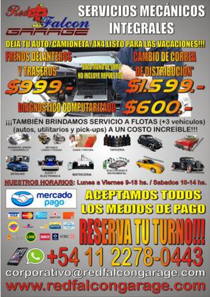 Servicios Mecanicos Integrales a Precios Unicos!!!