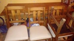 Venta de mesa y sillas