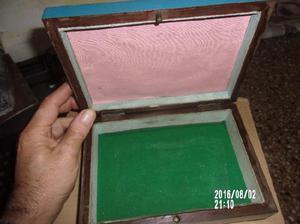caja de madera antigua $1900-