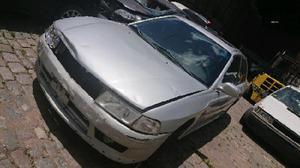 Mitsubishi lancer chocado dado de baja. repuestos